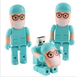 Доктора и медсестры форму USB-накопитель для индивидуального логотипа
