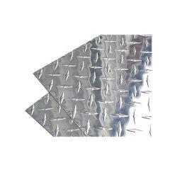 N° 8 miroir de tôle en acier inoxydable à finition gaufrée