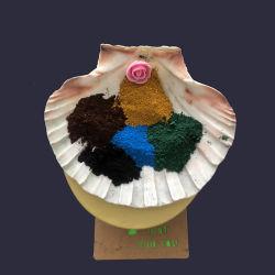 Bloque pavimentadora las materias Material químico de color rojo óxido de hierro 190