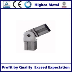 Edelstahl-quadratisches Gefäß für Handlauf SS304 316