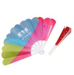 Promotie Vouwbare Plastic Ventilator met de Druk van de Douane
