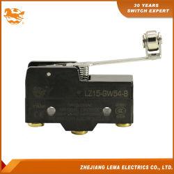 Lema de la Cruz la bisagra de la palanca de rodillo Lz15-gw54-B 15un micro interruptor de 250 VAC.