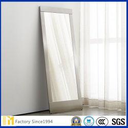الجدار لصق صالة مهجع إبداعي غرفة المعيشة المتشكل غرفة المعيشة ذات إطار الطالب الجدار الداخلي المعلق مرآة