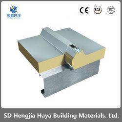 Montagem em parede/teto com isolamento de espuma de PU/painel do tipo sanduíche com isolamento de casas pré-fabricadas/Sala Fria/armazém/Manual