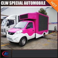 سيارة 4x2 Mini LED للإعلان السيارة 2 tons Mobile LED Display Car
