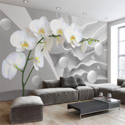 Papel de parede em branco reposicionável para impressoras a jato de tinta