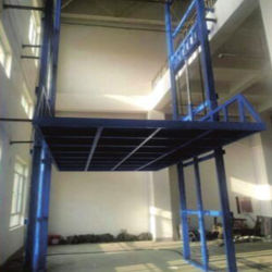 Платформа направляющих рельсов для грузовых перевозок Easy Lift для Малайзии