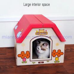 Het populaire Nieuwe Huis van de Kat van de Producten van het Huisdier van de Stijl met Scratcher