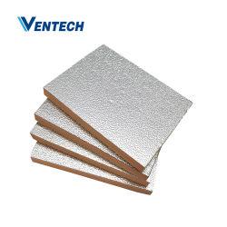 Alluminio Fenolic pannello preisolato condotto aria in fibra di vetro