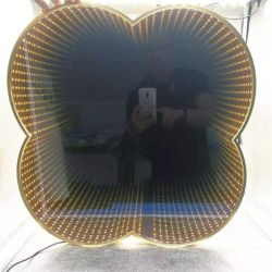 2021 Hotel Funky dمام 3D LED Infinity Mirror