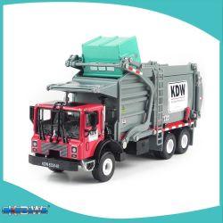 KDW vuilniswagen Speelgoed Model 1: 24 schaal Metaal Diecast Recycling Clean Trash vuilniswagen