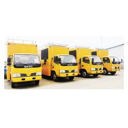 Dongfeng 4*2 Helado de alta calidad Hot Dog Food de comida rápida móvil de remolque para venta de camiones