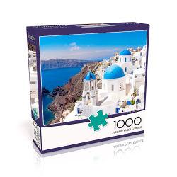 تخصيص حسب الصور تخصيص بطاقات الطباعة لوحة 1000 قطعة لغز بانوراما 6 مشترون