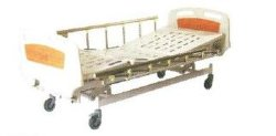Letto medico manuale a tre manovelle/Mobili per ospedali (XH4)
