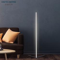 Music Sync White + RGB-kleur de Noordse kerstversiering veranderen LED moderne vloerlampen voor woonkamer slaapkamer