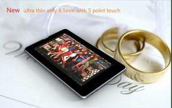 7 polegadas ultrafino tablet Android Market 4.0 OS .Resolução 1024x600 (Capacitivo DW-I7)