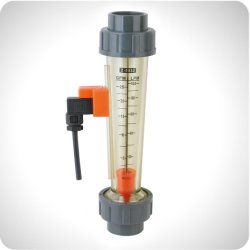 Le débitmètre électromagnétique liquide en plastique