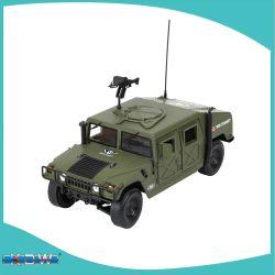 نموذج نموذج نموذج نموذج السيارة المصبوبة المعدنية السيارات المركبة المدرعة العسكرية Kdw 1/18 شاحنة ساحة المعركة