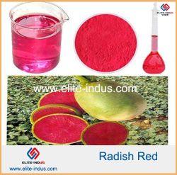 Additif alimentaire poudre rouge Radis de couleur rouge
