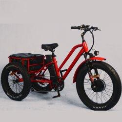 Взрослые 3 Колеса электрический велосипед/ литиевая батарея электрический инвалидных колясках груза
