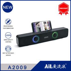 2021 nuovo altoparlante Bluetooth doppio LED per l'uso domestico Altoparlante Bluetooth