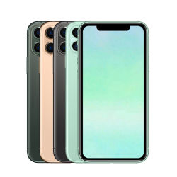 الهاتف المحمول المستخدمة بالجملة الأصلي تم تجديد الهواتف المحمولة فتح الهاتف الثاني هواتف محمولة لـ iPhone 11 11PRO بحد أقصى