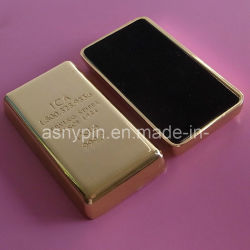 Custom 999,9 тонкой золотой бар плотность бумаги