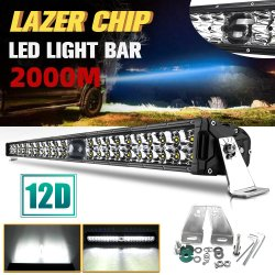 1000m 점화 최고 밝은 모는 22 인치 Barra LED 바 2 줄 Offroad 트럭 4X4 Laser LED 표시등 막대