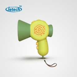 Alterador de voz brinquedo com alta fidelidade do megafone de saída de som