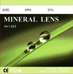 Terminar uma visão única lente Mineral 1.523