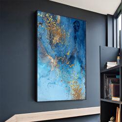 Section verticale décoratifs de grande taille lumière peinture murale moderne de luxe