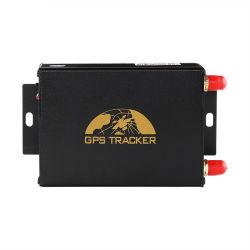 Cartão duplo SIM GPS Rastreador Veihcle 105 com temperatura/sensor de combustível