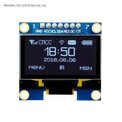 1.3 Zoll-weiße Farbe 128X64 Iic I2c/Spi OLED LCD LED-Bildschirmanzeige-Baugruppe