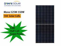 Dahai Mono Crystal 540W Halbzelle Hocheffizienter Haushalt Wohn Industrie Solarmodul PV-Solarmodul