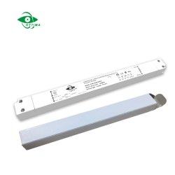 Triac яркости светодиодный драйвер тонкий пластмассовый блок питания постоянного тока для светодиодного освещения панели