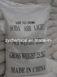 소다 아시 조밀한 밀도 99.2% 최소, 탄산 나트륨, 유리 및 섬유 산업용