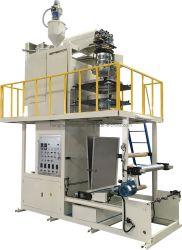 Poli de soplado de película plástica polipropileno PP Plasitc máquina rotativa de agua de refrigeración con cabezal de roscar SL-55-800