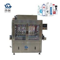 سعر ماكينة تعبئة السوائل السائلة التلقائية الخطية