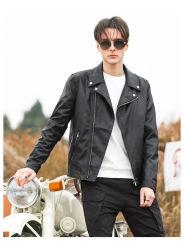 تصميم جديدة عصريّ [بو] بناء درّاجة ناريّة أسلوب شتاء يلبّي جلد رجال دثار