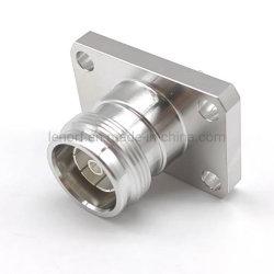 패널 마운트 단자 Sub Molex 4.3/10 Mini DIN Female Jack 커넥터