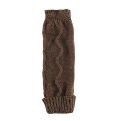 Mesdames d'hiver de tissage solide acrylique Manchons de protection de poignet du bras