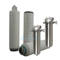 Grandi & ss sottili che alloggiano 5 il filtro pieghettato micron dall'elemento filtrante della membrana pp/acqua del polipropilene con 10 la memoria di pollice pp