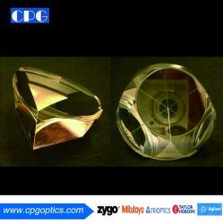 """Dia 0,5 po à 3""""/pouce cube d'angle Retro-Reflector prisme BK7 pour le faisceau en silice fondue groupe/la déviation du faisceau"""