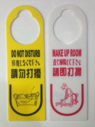 Hotel colgador de puerta de papel con diseño personalizado