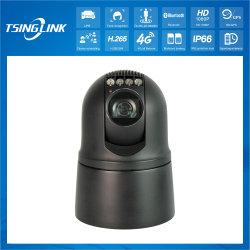 4G HD à prova de vigilância móvel sem fio inteligente Dome PTZ de emergência câmara CCTV com bateria