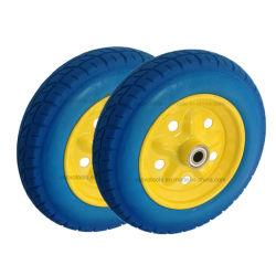 Tela plana de 14 polegadas da Roda de espuma de PU pneu gratuito para crianças Mini Bicicletas