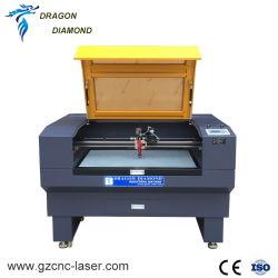 2018 Melhor Desktop 6090 Cortador de gravura a laser CNC com câmara CCD de focagem automática para venda