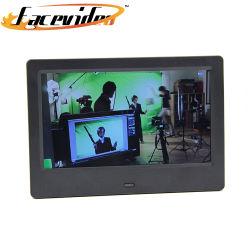 De Leverancier van Facevideo LCD HD van 7 Duim de Digitale Speler van het Frame van de Foto Androïde Video voor de Marketing van de Bevordering van de Bank van het Hotel van de Reclame