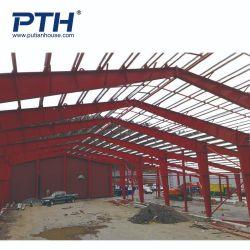 プレハブの工業デザインの鉄骨構造の倉庫(PTW-007)