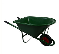 Mejor calidad de WB0200 Metal Kids carretilla Yard Rover bandeja de plástico de la herramienta de jardín para niños